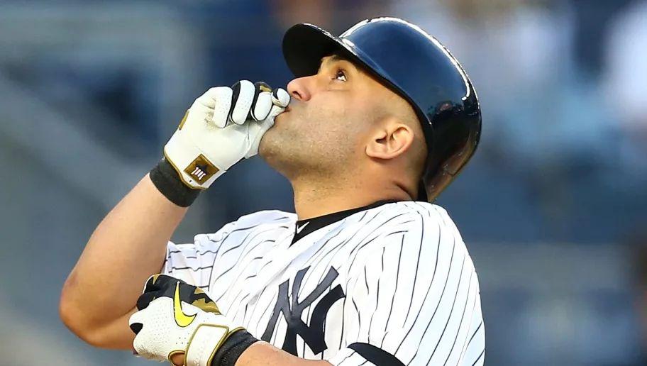 Kendrys Morales en los Yankees de New York